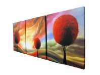Canvas Painting Stetching Framing