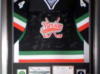 Ice Hockey Jersey Framing