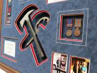 Medal Object Hammer Framing